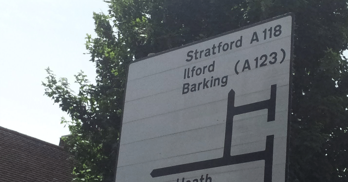 driving test route barking