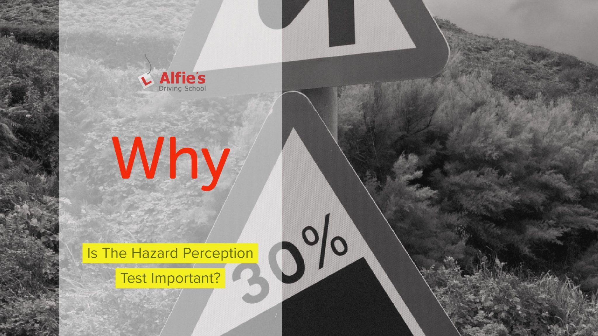 Hazard Perception Test Important