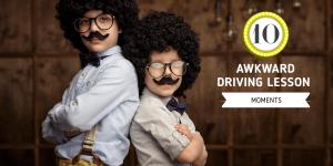 Awkward Driving Lesson Moments