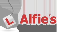 Alfies Driving School Logo