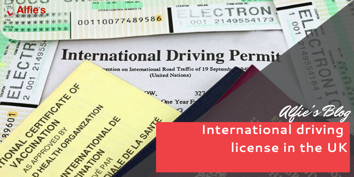 international driving license in the UK