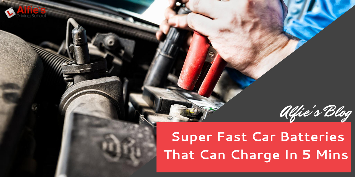 Super Fast Car Batteries That Can Charge In 5 Mins