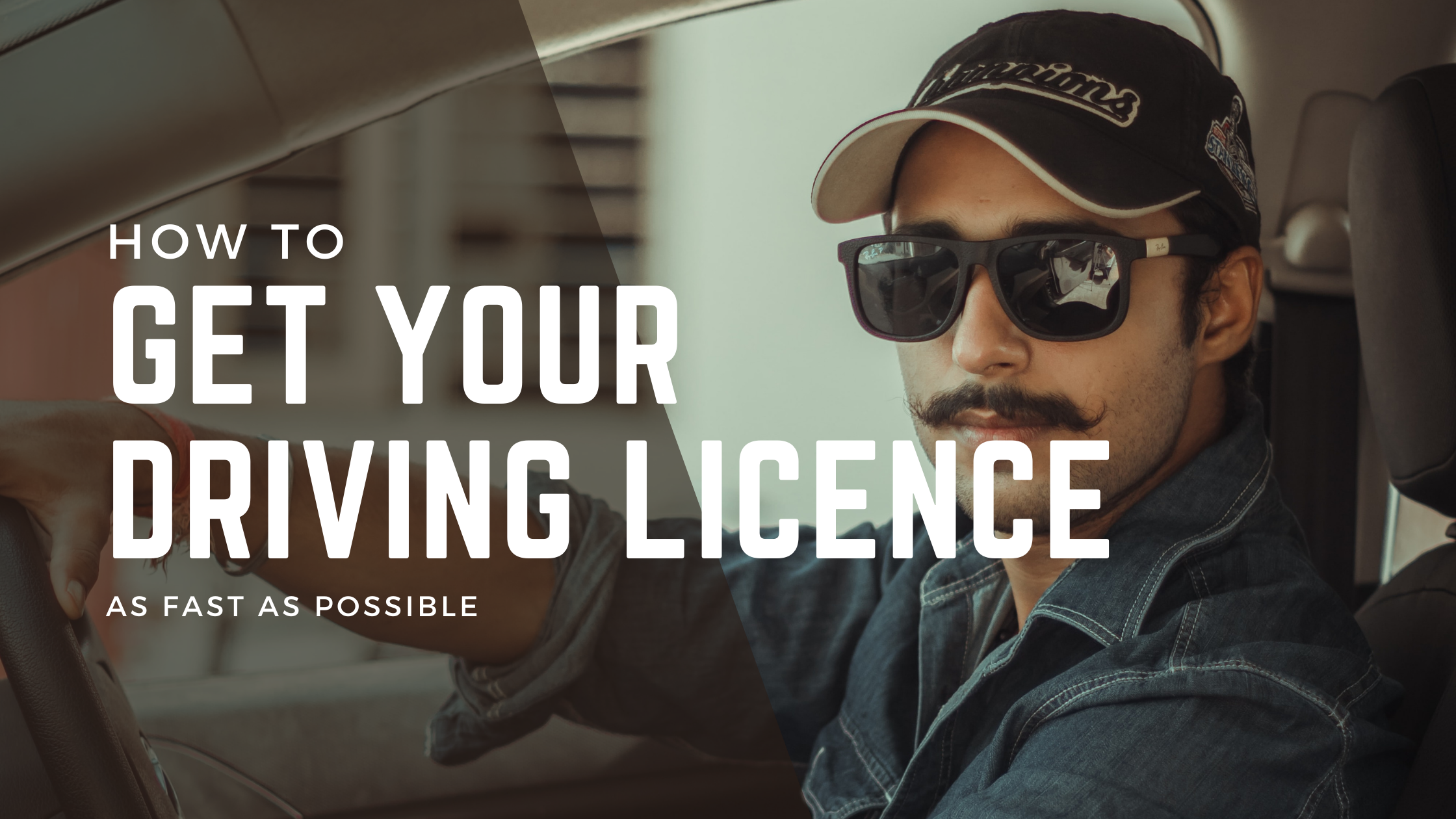 How to get your driving licence as fast as possible